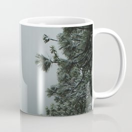 Backwoods Winter: Ponderosa Pines, Washington Coffee Mug