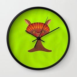 Friendly but Whimsical Mushroom Creature Wall Clock