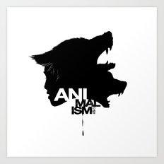 Wolf Kind Art Print
