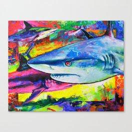 Shark Colors Canvas Print