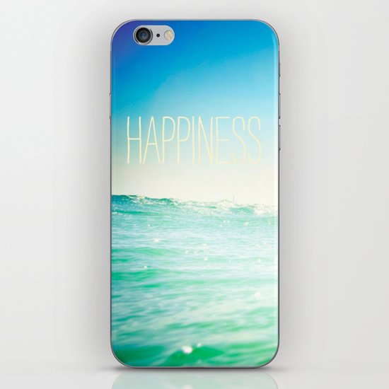 beachy happiness iPhone & iPod Skin