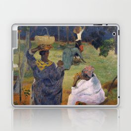 1887 - Gauguin - Among the mangoes at Martinique Laptop & iPad Skin