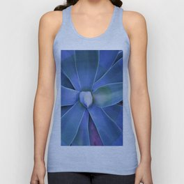 blue star Unisex Tank Top