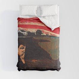 Edvard Munch - Evening. Melancholy - Digital Remastered Edition Comforters
