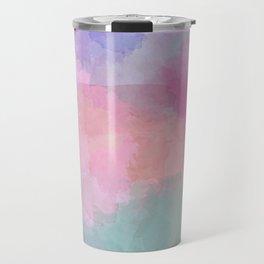 Pastel Spring Collision Travel Mug