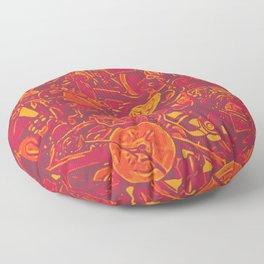 Scramble Floor Pillow