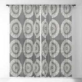 Grandma's Doily I Sheer Curtain