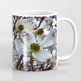 Dogwood Blossoms in the Rain Coffee Mug