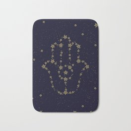 Hamsa Constellation Bath Mat