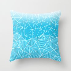 Ab Half And Half Electric Throw Pillow