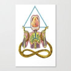 Yoni Canvas Print