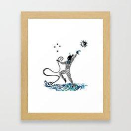 Māui Framed Art Print