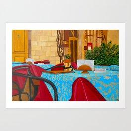Piazza Civica Art Print