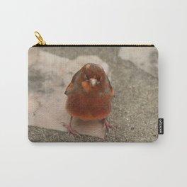 Cute runaway canary bird Carry-All Pouch