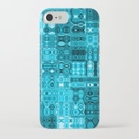blueprint iPhone & iPod Cases featuring Blueprint by Alice Gosling
