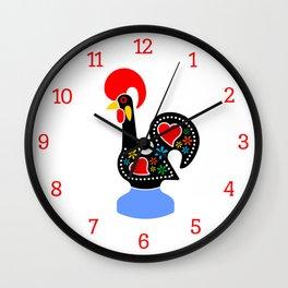 Galo de Barcelos - Barcelos Rooster Wall Clock