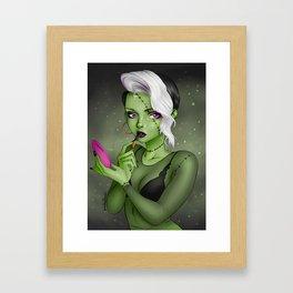 Frankelina Framed Art Print