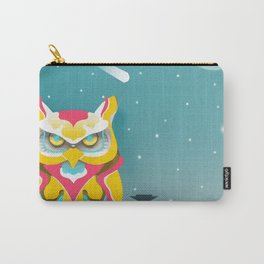 Nairobian Owl Carry-All Pouch