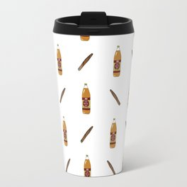 40's & Blunts Pattern Travel Mug