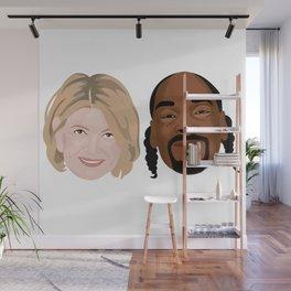 Snoop Dogg and Martha Wall Mural