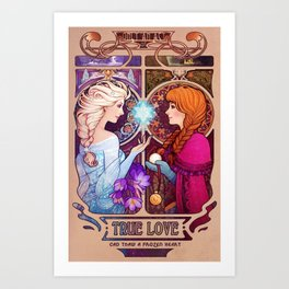 Let Me In - quote version Art Print