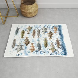 THE BEAUTY FISH Rug