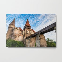 Corvin Castle, Transylvania Metal Print