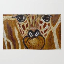 Baby Giraffe Art, Kids Room Bathroom Art, Zoo Animals, Nursery Room Rug