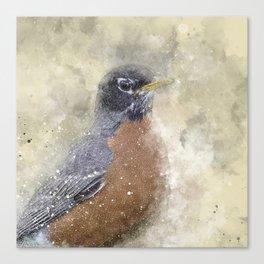 Rusty Robin Canvas Print