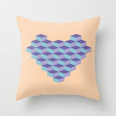 Blocs Throw Pillow