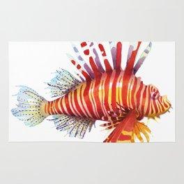 Firefish - lion fish Rug