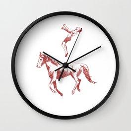 The Jumping Man Wall Clock