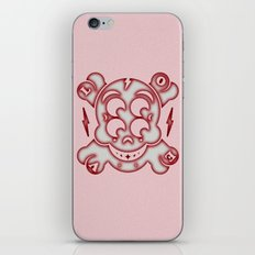 Skully with Love iPhone & iPod Skin