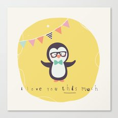 Pete Penguin Canvas Print