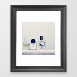 the scent ver.vogue color Framed Art Print