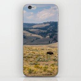 Yellowstone Bison iPhone Skin