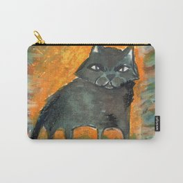 cat in the moon Carry-All Pouch
