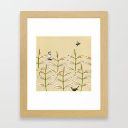 Forest Dwellers - Flora & Fauna Framed Art Print