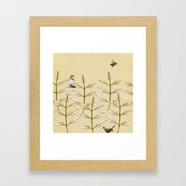 Forest Dwellers - Flora & Fauna Framed Art Print