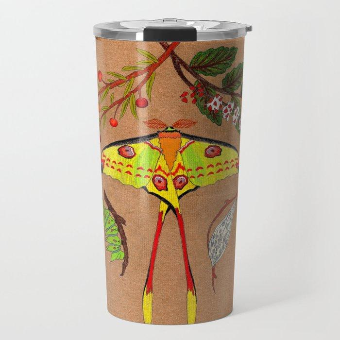 Comet Moth (Argema Mittrei) Travel Mug
