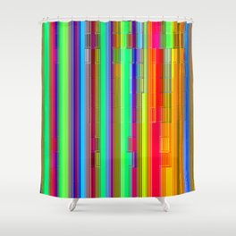 Re-Created CornerStone3/21/14 by Robert S. Lee Shower Curtain
