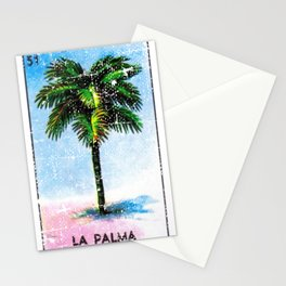 La Palma Mexican Loteria Bingo Card Stationery Cards