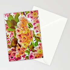 Polychrome Beauty In Full Bloom Stationery Cards
