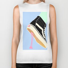 BUBBLE GUM NEVER DIES Biker Tank