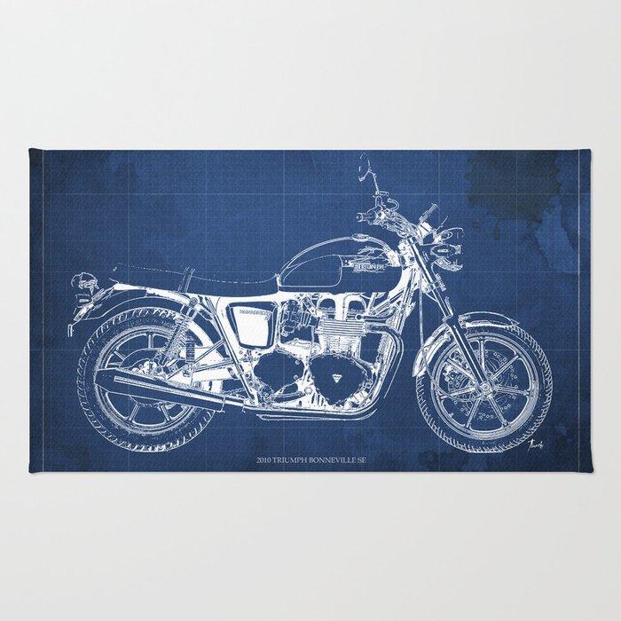 2010 triumph bonneville se motorcycle blueprint husbands gift 2010 triumph bonneville se motorcycle blueprint husbands gift offer original poster malvernweather Gallery