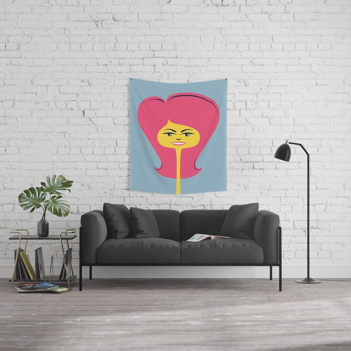 Good Hair Days: Flip Wall Tapestry