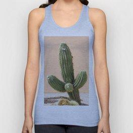Pastel Cactus II Unisex Tank Top