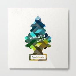 Wunderbar forests Metal Print