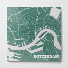 Rotterdam, the Netherlands 2018 Metal Print