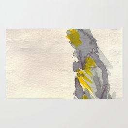Yellow to Grey Rug
